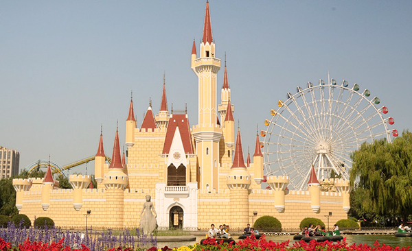 "El ""Disney"" de China . Foto: www.themeparktourist.com"